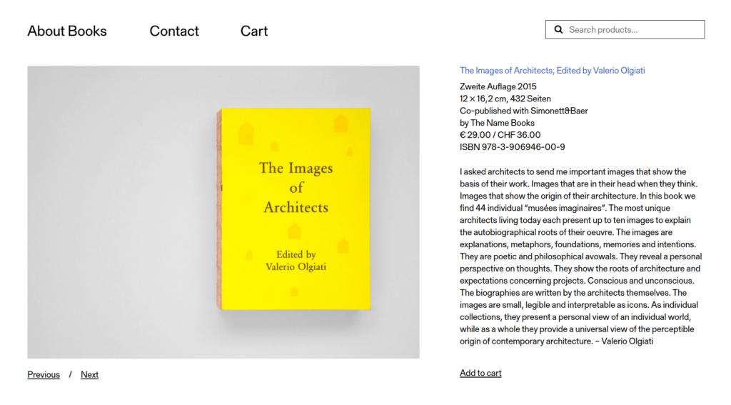 Einzelansicht von The Images of Architects auf aboutbooks.ch