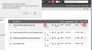 Dateien überspeichern in TYPO3 6.2